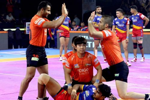 U Mumba's defense is one of the best in the league.