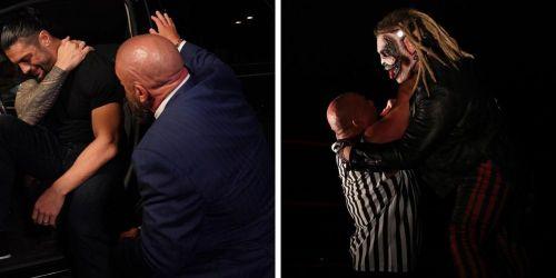 Triple H aids Roman Reigns; Wyatt continues his terror