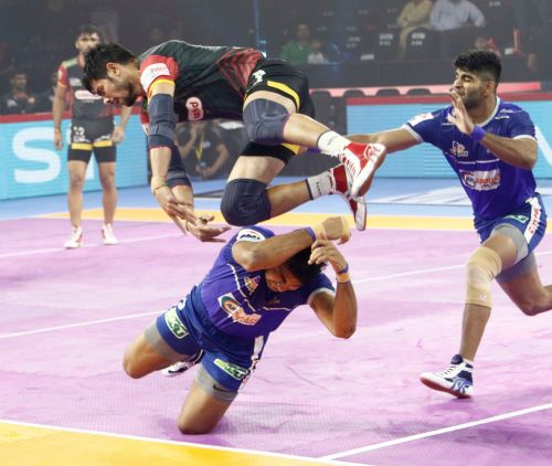 Haryana Steelers put up a tremendous game and won the close-called battle against the Bengaluru Bulls