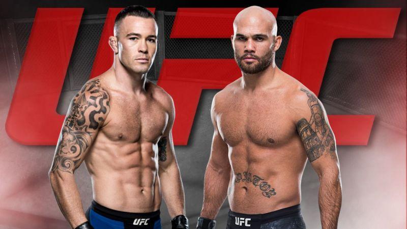 UFC on ESPN: Covington vs Lawl...