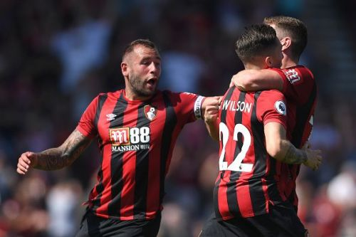 7 of Bournemouth's shots were on target
