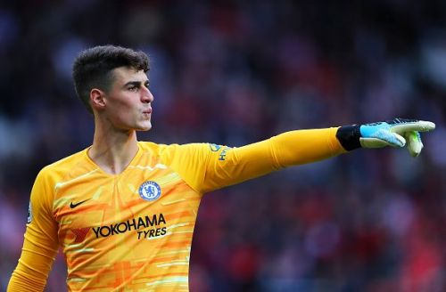 Kepa made quite a few vital saves to keep his team in the game