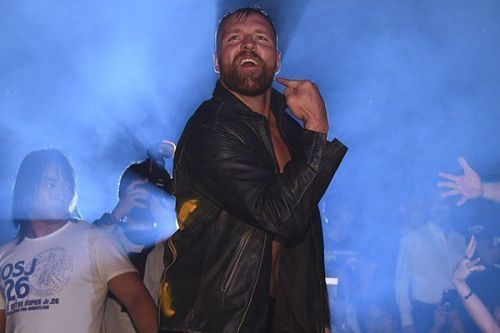 Jon Moxley has suffered his first pinfall defeat in NJPW