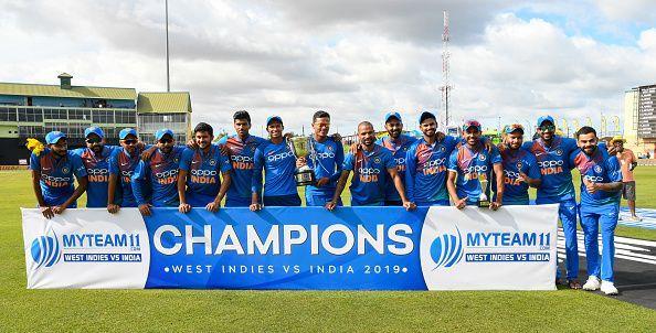 भारत ने 3-0 से जीती सीरीज