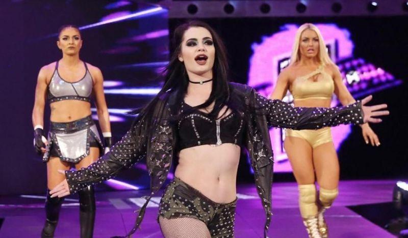 Paige technically wrestled her first match as a fetus