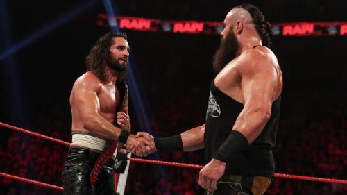 Seth Rollins and Braun Strowman