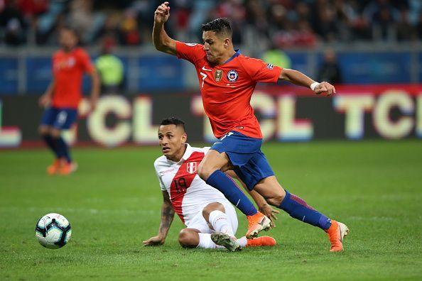 Sanchez shone at the Copa America.