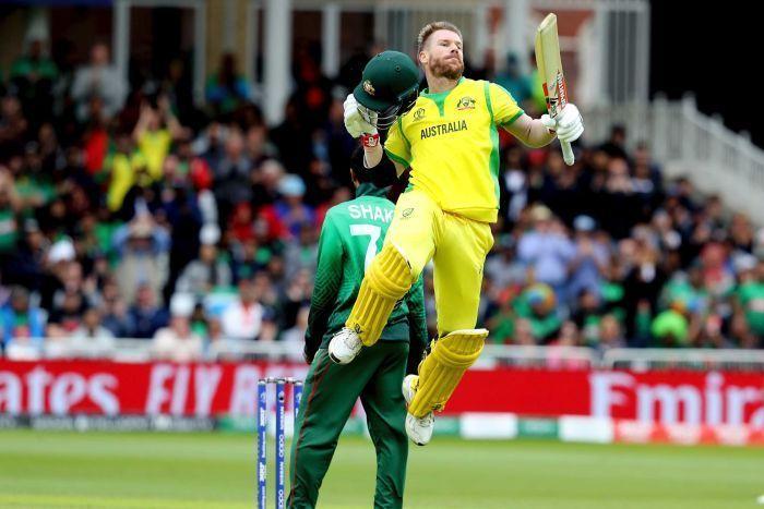 ऑस्ट्रेलियाई सलामी बल्लेबाज डेविड वॉर्नर