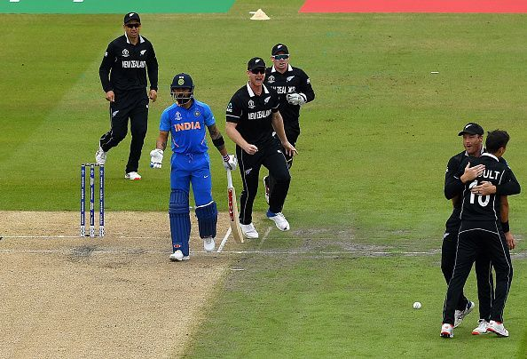India suffered heartbreak in the World Cup semifinal, at the hands of New Zealand