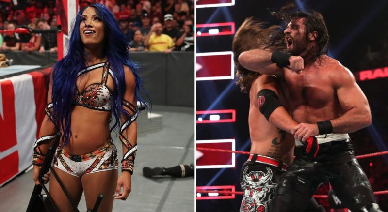 The return of Sasha Banks and a huge main event made this week