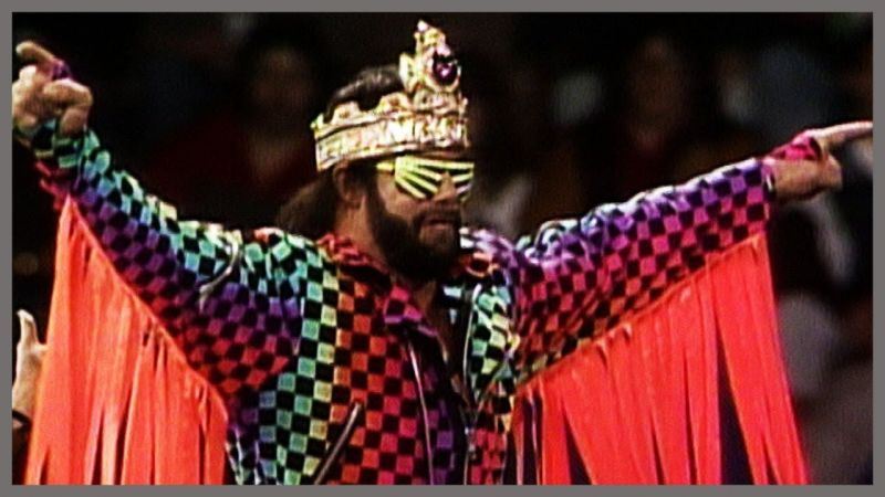 The Macho King ruled over the WWF in the late 1980s