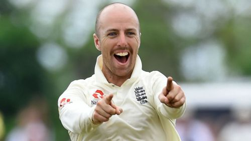 Jack Leach made 92 against Ireland in July