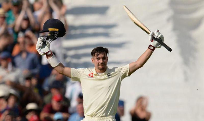 रोरी बर्न्स ने अपना पहला टेस्ट शतक लगाया