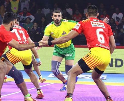 प्रो कबड्डी 2019, 34 वां मैच: गुजरात फॉर्च्यूनजायंट्स vs तमिल थलाइवाज