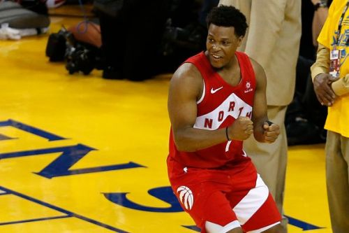 Kyle Lowry played a major role in the Toronto Raptors' first championship-winning campaign