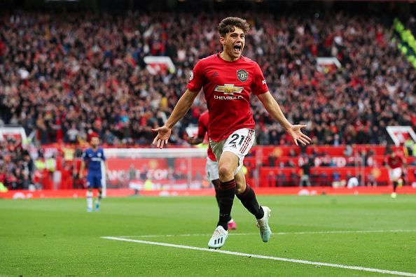 Daniel James left his mark on the Old Trafford faithful