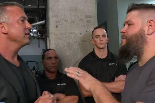 Owens confronts McMahon