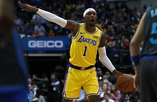 Kentavious Caldwell-Pope has yet to make much of an impact for the Los Angeles Lakers