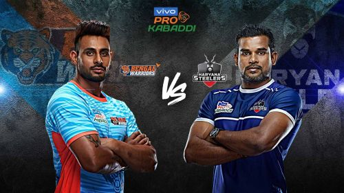Bengal Warriors have never beaten Haryana Steelers in the past two seasons. Can they do it tonight?