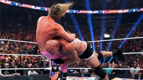 The Goldberg/Dolph Ziggler match was exactly what Goldberg needed