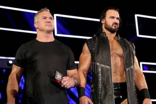 Shane has a match at SummerSlam, but McIntyre does not.