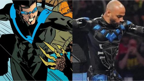 Monday Night RAW Superstar Ricochet wore an incredible attire based on DC Comics character Nightwing for his match at SummerSlam.