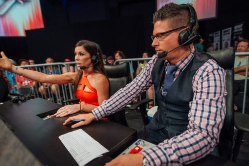 Mathews has also commentated with his wife!