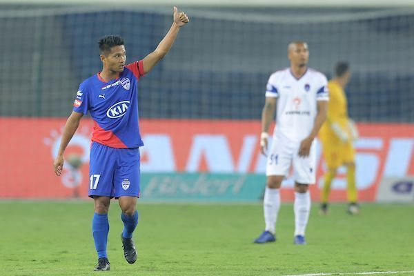 Haokip produced an impressive performance on his debut