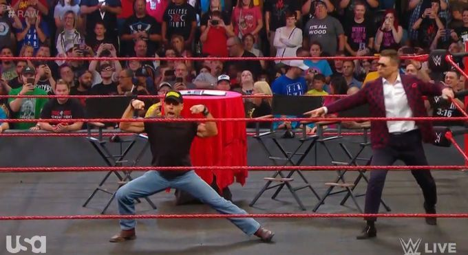 The Heartbreak Kid finally laid out Dolph Ziggler with a patented Sweet Chin Music