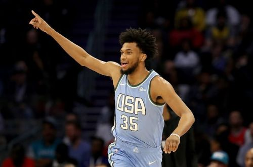 Marvin Bagley III was considered for selection following an impressive showing for a USA Select team