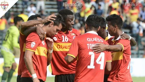 East Bengal got their third straight win to qualify for the semi-final of the Durand Cup