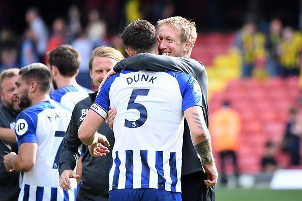 Brighton & Hove Albion are in the top four!