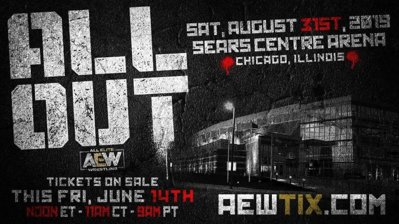 All Out will set All Elite Wrestling up before their television debut.