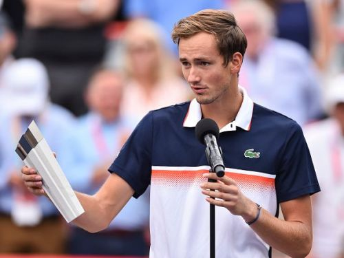 Daniil Medvedev made the finals of the Rogers Cup just last week.