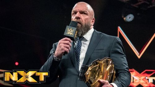 Triple H oversees everything in NXT