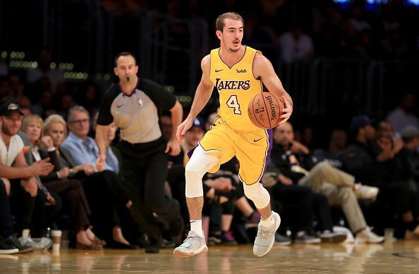 Alex Caruso is among the players that the Lakers need to have a big season