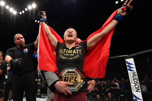 Weili Zhang is the new UFC Strawweight Champion