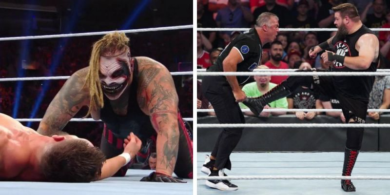 The Fiend left his mark on the WWE