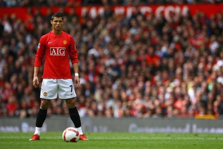 During his time at Old Trafford, Cristiano Ronaldo transformed into one of the world