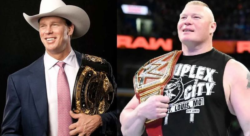 JBL and Lesnar