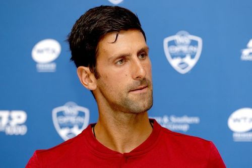 Novak Djokovic will look to successfully defend his title