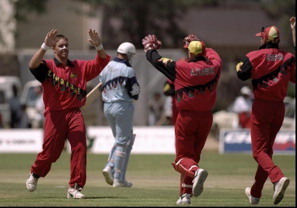 Heath Streak of Zimbabwe