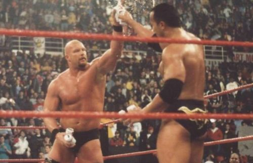 The Rock and Austin