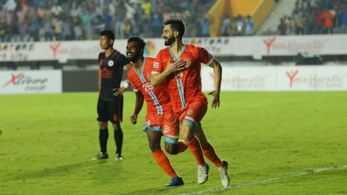 Nestor Gordillo played an integral role in leading Chennai City FC to the I-League title