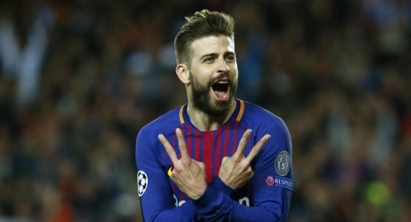 Pique has been with Barcelona since 2008
