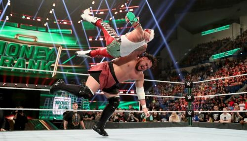 Dominick was present at the 2019 Money in the Bank Pay Per View, where his father Rey Mysterio won the United States Championship.