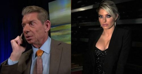 Vince McMahon and Alexa Bliss.