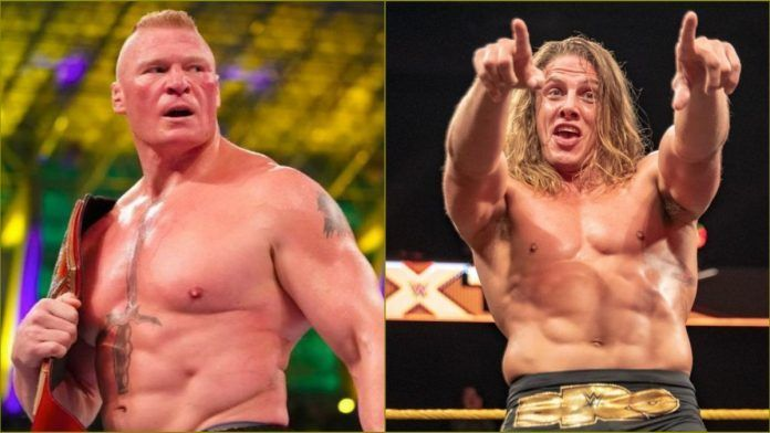 Riddle and Lesnar