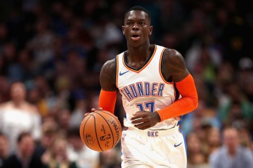 Dennis Schroder joined the Oklahoma City Thunder last summer in the deal for Carmelo Anthony