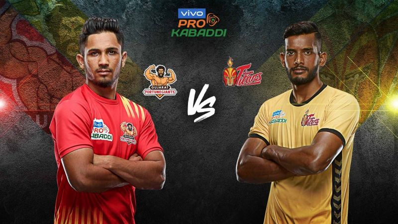 Telugu Titans have never defeated Gujarat Fortune Giants in two seasons. Will it change tonight?